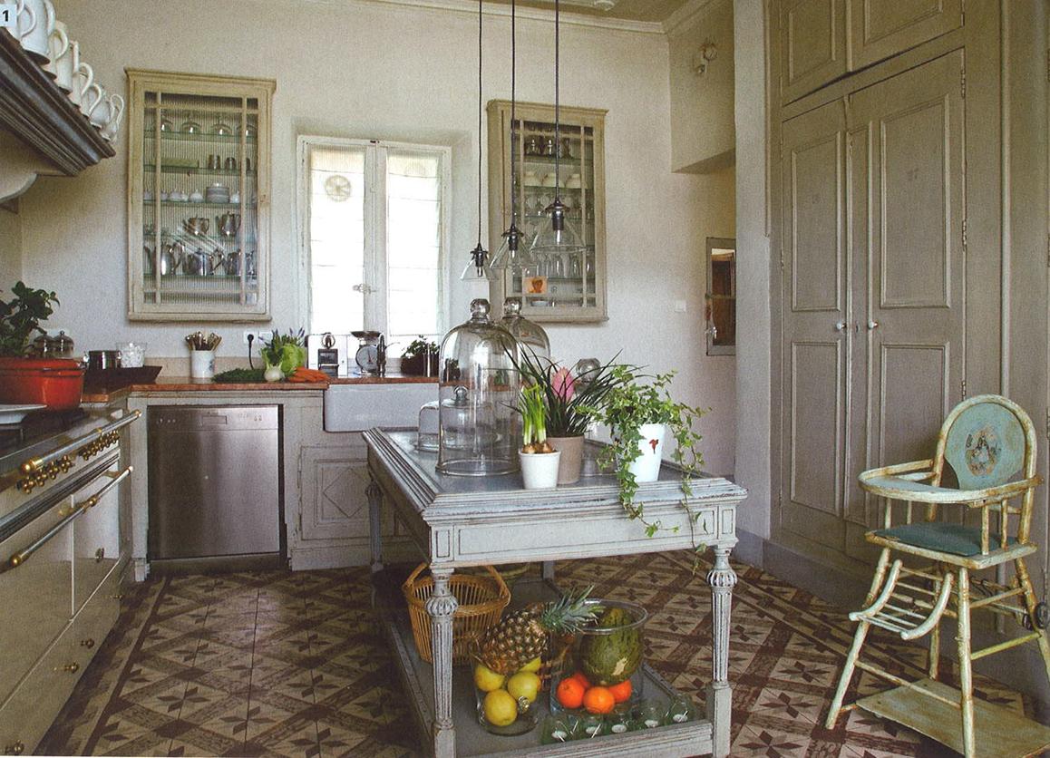 Cocinas en casas de campo el pardalot - Cocinas para casas ...