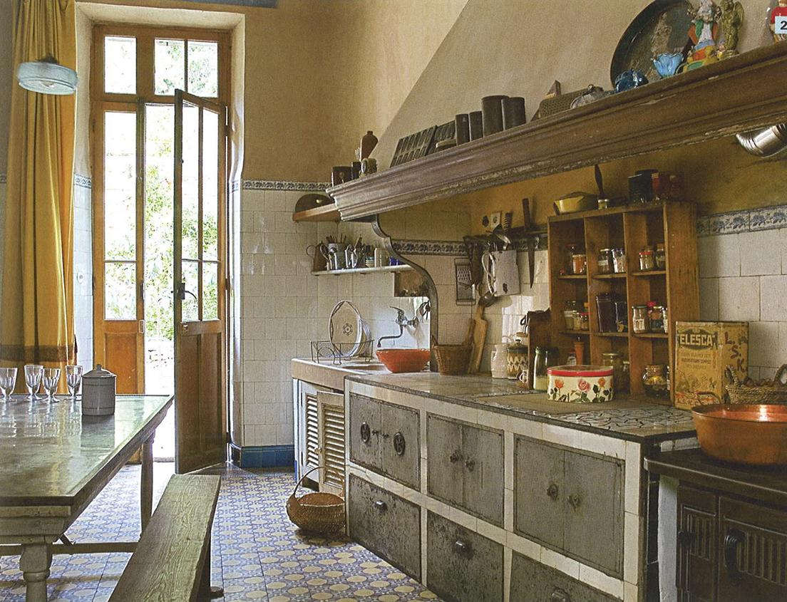 Cocinas en casas de campo el pardalot - Casas provenzales decoracion ...