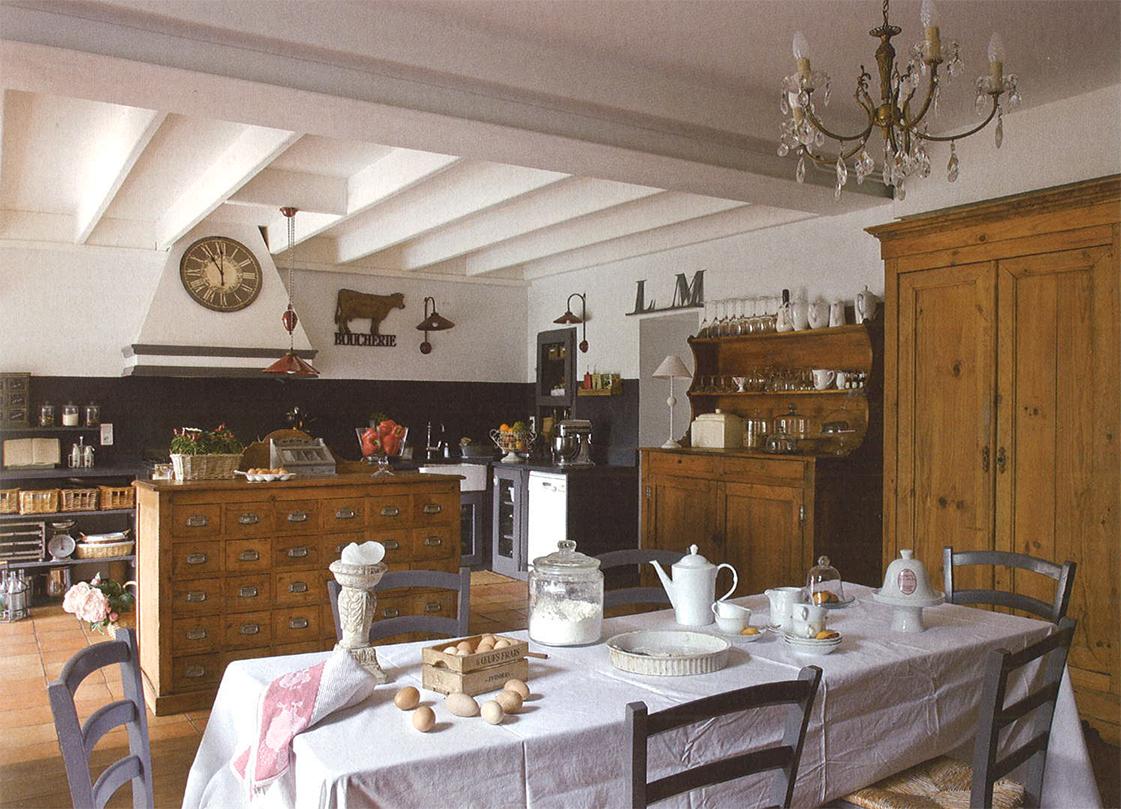 Magnífico Campo Cocinas Francesas Fotos Colección de Imágenes ...