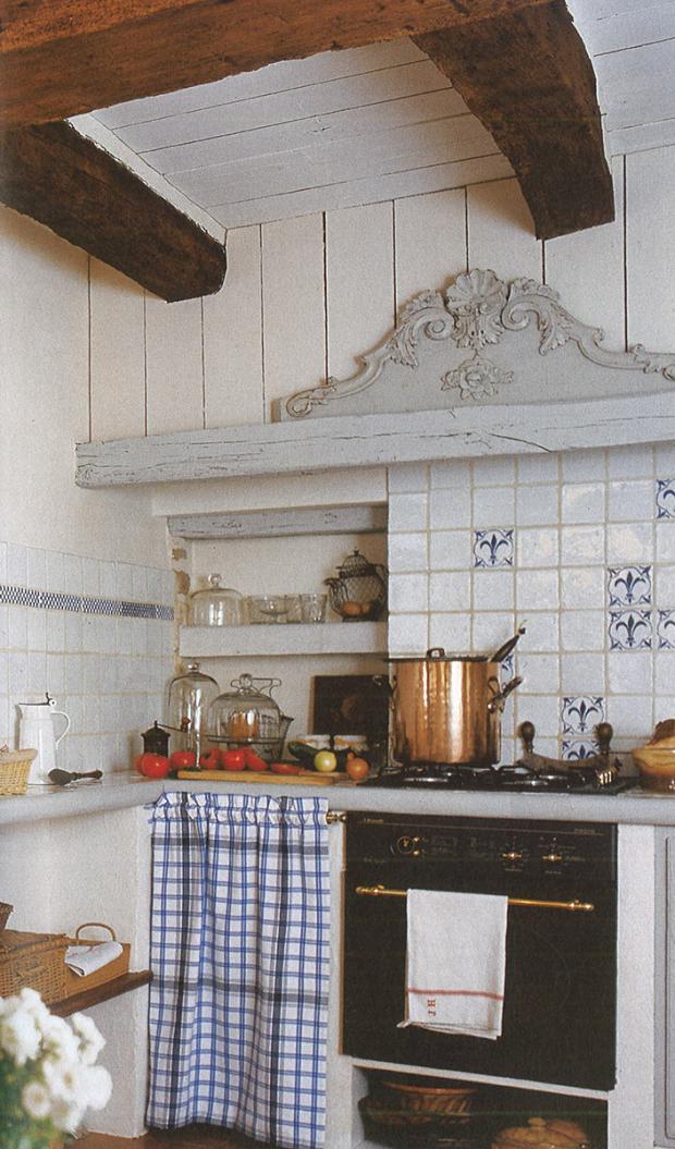 Azulejos antiguos para cocina el uso de azulejos antiguos tambin contribuye a la esttica rstica - Azulejos antiguos para cocina ...