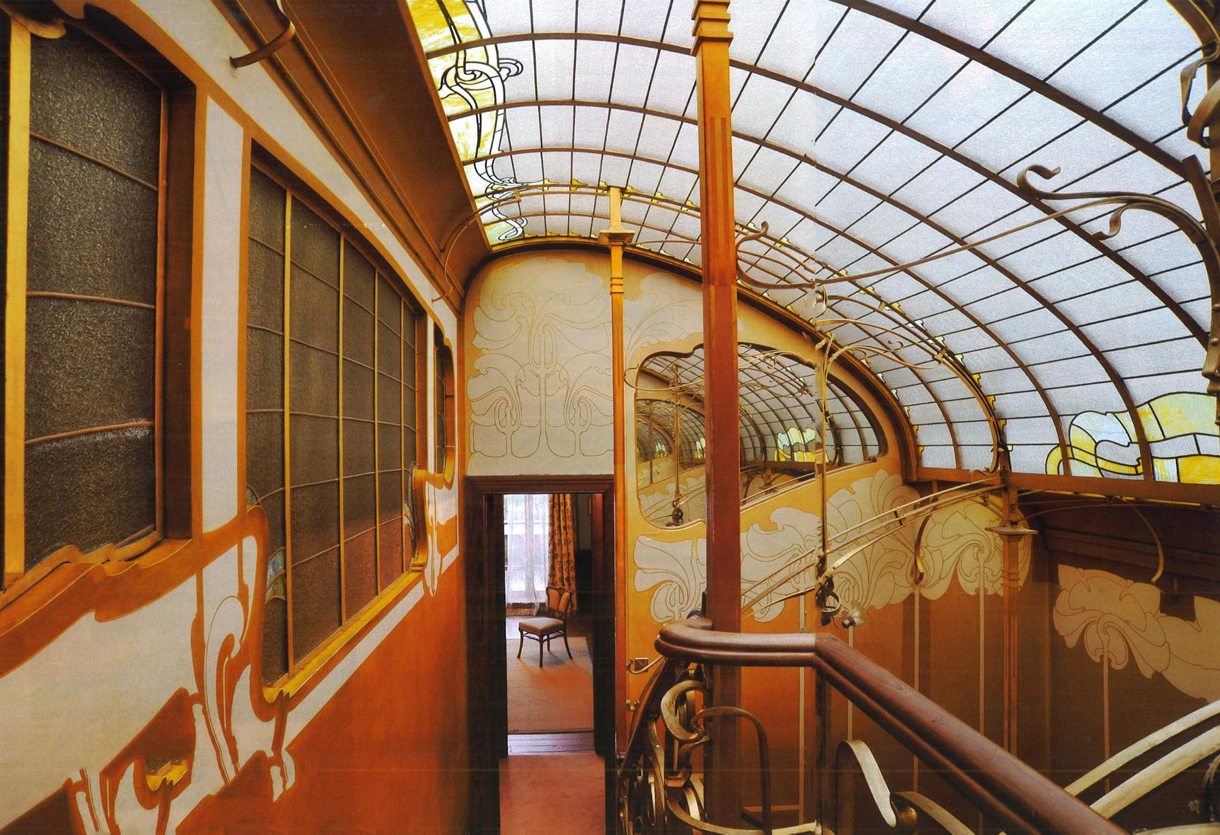 Art nouveau la casa museo de victor horta el pardalot Art nouveau arquitectura