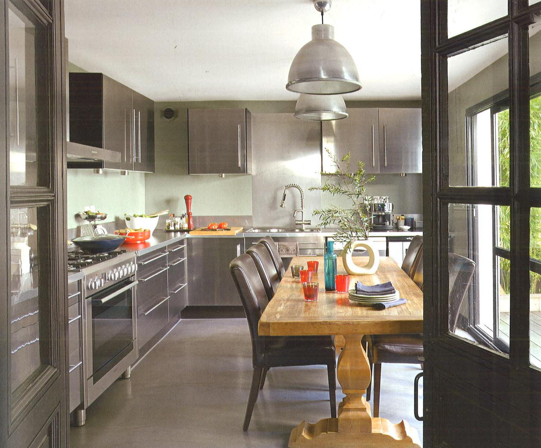 Mezclar estilos cocinas ii parte el pardalot for Cocinas industriales siglo